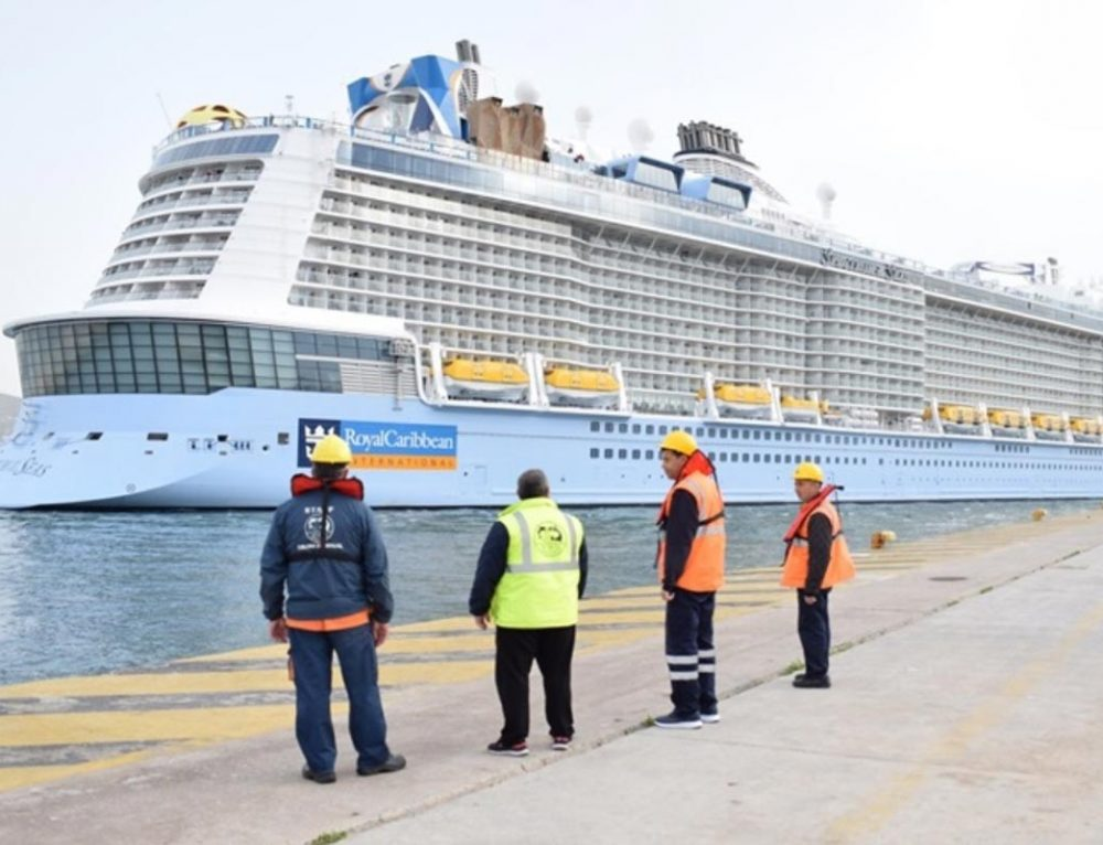 Piraeus Port Welcomes Newly-built Cruise Ships